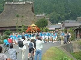 知井八幡神社例祭